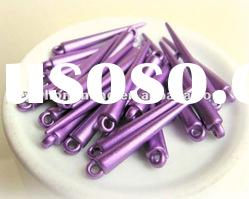 Best price&Active stock!!50mm loose acrylic spike beads,basketball wives earring spike