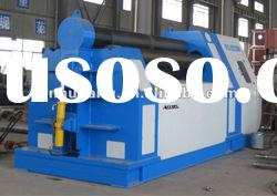 CNC four roller plate rolling pipe bending machine