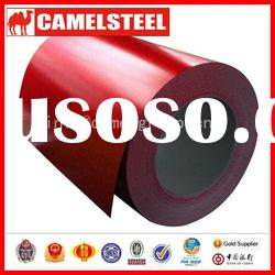 CQ hot dipped galvanized colour coated steel coil