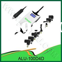 Car adaptor 100W Shiny with USB universal Laptop Car Charger