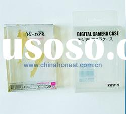 Clear plastic pvc box for packing