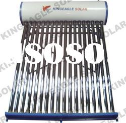 Color Steel Solar Water Heaters, Non Pressure Solar Water Heater, Electric Booster