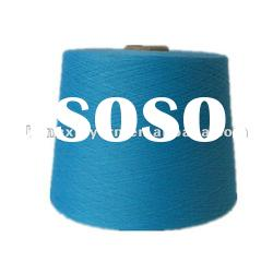 Color polyester yarn 100% dope dyed