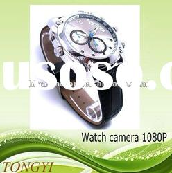Cool Style 1080P Waterproof Night Vision Sound Activation Watch Camera 32