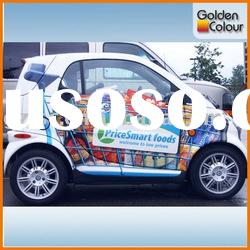 Custom full color vehicle wrapping film