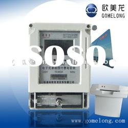 DDSY5558 Single phase electricity prepaid energy meter