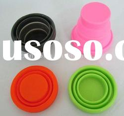 Eco-friendly Nontoxic Silicone Travel Cup