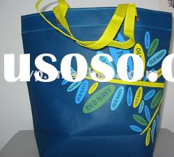 Elegant bags!Two colors printing Non Woven tote Bag