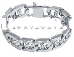 Exotic sensation thick link mens bracelets wholesale stainless steel fashion jewelry
