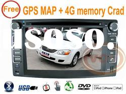 "FOR /KIA New Pride 2005-2011 6.2"" Car audio player with GPS(WinCE6.0)+Free map(Igo8)"