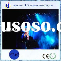 Full color P7.62 SMD indoor stage show led screens