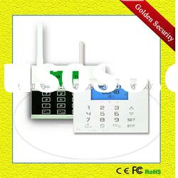 GS-G80DE Touch keypad GSM alarm system with 5 ways arm/disarm method