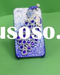 Good quality and low price bling mobile phone crystal case for 4g