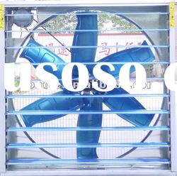 Greenhouse louvered exhaust fan with CE