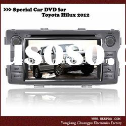 HEPA: 2012 toyota hilux car dvd with gps