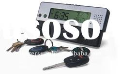 HOT! digital voice recorder LED clock with key holder---BS-C4077