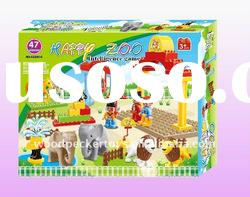 Happy Zoo intelligence dream block / bricks toy