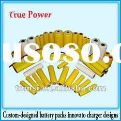 High capacity NiCD SC 700mAh 9.6v Cylindrical rechargeable Battery pack with lower price