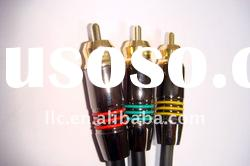 High end Audio Video Cable 24K Gold plated