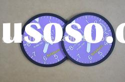 Hot sales promotional gifts Factory manufacture 100% non-toxic Soft pvc coaster
