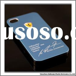 Hot sell Ferrari aluminum mobile phone cases for iPhone4g Cell phone cases