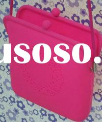 Hot-sell silicone bag for lady