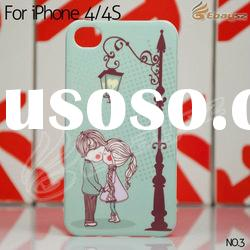 Hot selling Gimi Couple series Kissing Couple hard back case for iphone 4 4S LF-1253-3