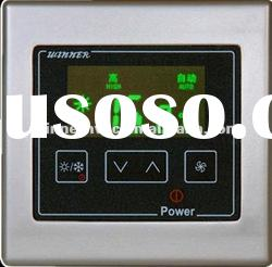 LCD display thermostat with automatic timer