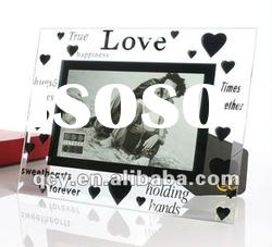 Love theme acrylic picture frame stand