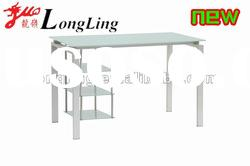 MCD-890 beautiful design office glass table with rackers
