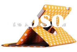 New Arrival!!! 360 Degree Rotating Leather Case Cover for iPad 2