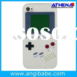 New arrive-Gameboy Soft Silicone Case Back Cover Skin For Apple iPhone 4 4G 4S CDMA