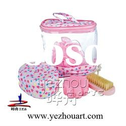PVC bag bath travel kit set