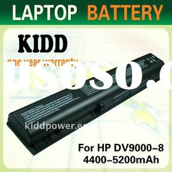 Replacement for HP Pavilion dv9000 battery