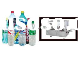 SPC-SORL-TL Automatic Linear BOPP hot melt labelling machine for beverage bottle
