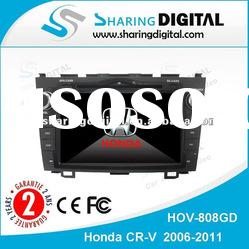 Sharing Digital Super 8 inch TFT Touch Screen Car GPS Tracking System For CR-V