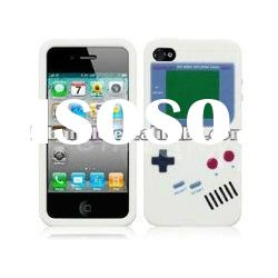 Silicone soft back Case For iPhone