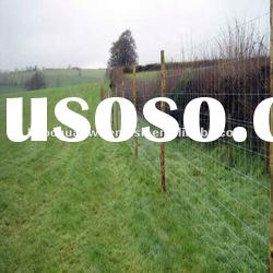 Silver rot proof stainless steel weave wire Ranch Fence for raising cattle