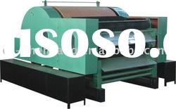 Single cylinder double doffer high yield carding machine