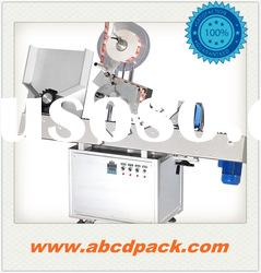 Sticker Self adhesive Automatic round bottle rolling labeling machine