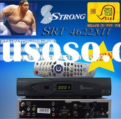 Support Digital Set Top Box Tv Receiver Strong 4663xII in Middle East/Africa