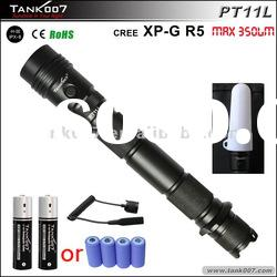 TANK007 PT11L cree tactical flashlight/cree led flashlight/cree xmlt6 flashlight