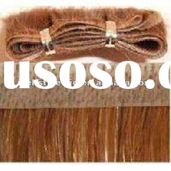 Top quality remy human hair skin weft