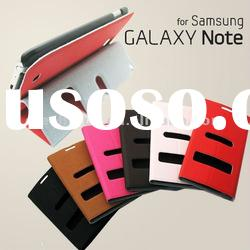 Ultra Slim Leather Case for Samsung Galaxy Note i9220 N7000 (Folio Stand)