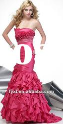 WD-67 fabulous mermaid trumpet evening gown