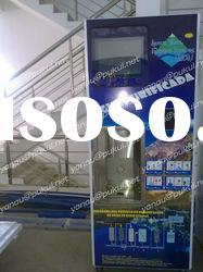 Water Vending Machine With Bottle Washing Function