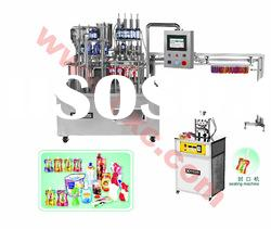 ZGXA-4 Liquid pouch packing machine