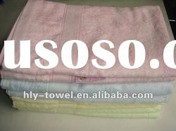 bamboo fiber bath towel in dobby style