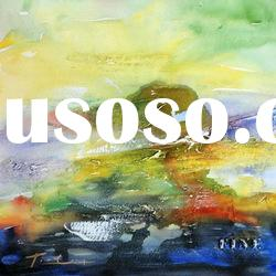 beautiful scenery abstract oil painting on canvas2012