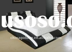 best selling queen size leather bed